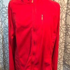 Danskin Now red light zip up jacket XXL